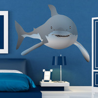 Graphic Vinyl Wall Decal Sticker Shark #MGeise114