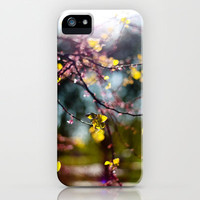 Sun and FLowers iPhone Case by Trinity Bennett