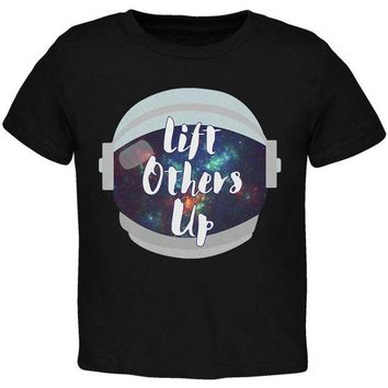 ESBGQ9 Anti-Bullying Astronaut Space Lift Others Up Toddler T Shirt