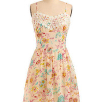 Graceful Gal Dress | Mod Retro Vintage Printed Dresses | ModCloth.com