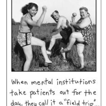 Mental Institutions Card