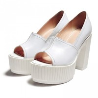 Slide-on Maxi Platform Shoes
