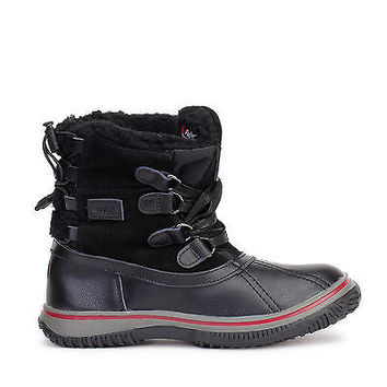 Pajar Canada Womens Snow Boots Iceland Waterproof Black