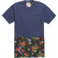 On The Byas Jake Pieced Parrot Crew T-Shirt at PacSun.com