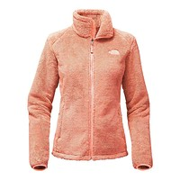 Women's Osito 2 Full Zip Fleece Jacket in Tropical Peach by The North Face