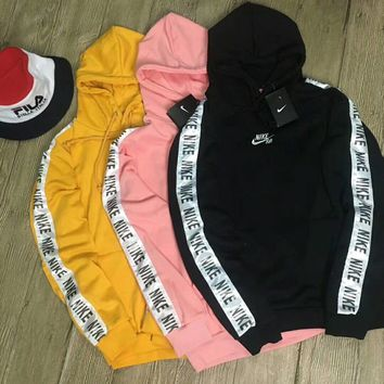 """""""Nike"""" Tnt Tape Embroidery Nike SB Logo Pullover Hoodie"""