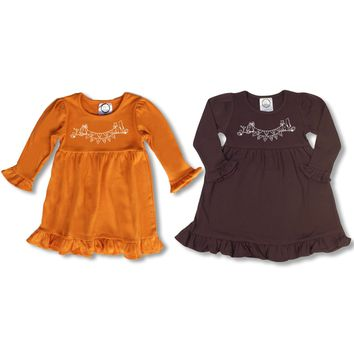 Give Thanks Long Sleeve Dress