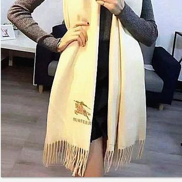 One-nice™ Perfect Burberry Women Fashion Winter Accessories Sunscreen Cape Scarves Scarf