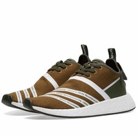 Mens ADIDAS x WHITE MOUNTAINEERING NMD R2 PRIMENIT Boost (CG3649), UK 9, US 9.5