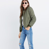 Bomber Jacket : shopmadewell AllProducts | Madewell
