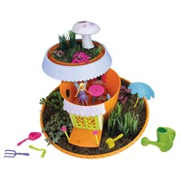 Pre-Owned My Fairy Garden Magical Cottage Playset Girls Without Ground & Seeds