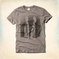 Vintage Palm Graphic T-Shirt