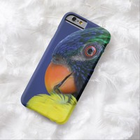 Colorful Rainbow Lorikeet Profile Barely There iPhone 6 Case