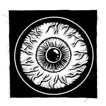 EVIL EYE BACK PATCH