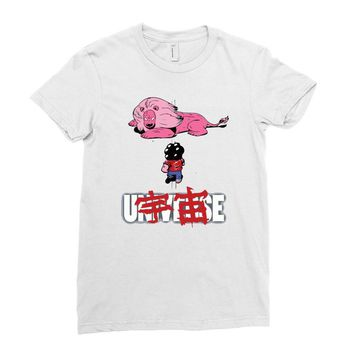 akira universe Ladies Fitted T-Shirt
