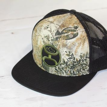 "HOOey Gameguard Camo ""GG9"" OSFA (snapback) GG009T-BK NEW FOR 2017"