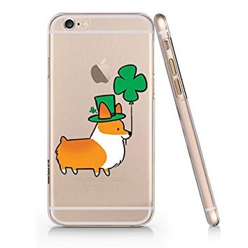 Cute Dog Transparent Slim Plastic Phone Case Phone Cover for Iphone 6PLUS_ SUPERTRAMPshop (iphone 6 plus)