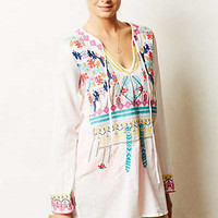 Embroidered Utara Cover-Up