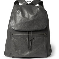 Balenciaga - Creased-Leather Backpack | MR PORTER