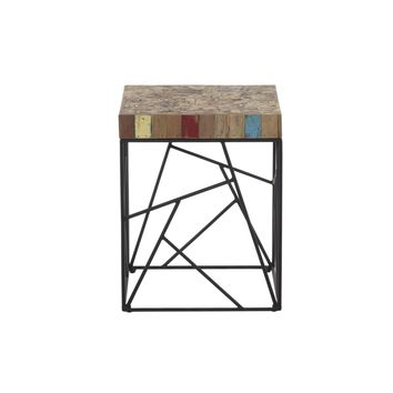 Rubic Reclaimed Boat Wood Side Table