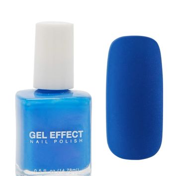 Blue Gel Effect Nail Polish - Accessories - Beauty - 1000103057 - Forever 21 Canada English