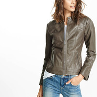 double peplum (minus the) leather jacket