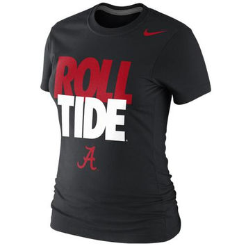 Alabama Crimson Tide Nike Women's Local Slim Fit T-Shirt – Black