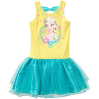 Walmart: Disney Frozen Girls' Short Sleeve Tutu Dress