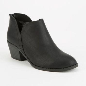 SODA Side Notch Girls Booties | Boots