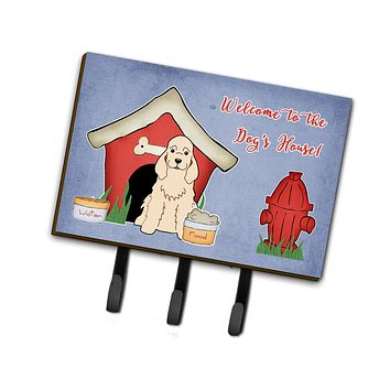 Dog House Collection Cocker Spaniel Leash or Key Holder BB2848TH68