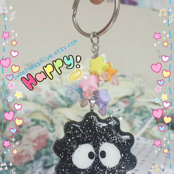 Spirited Away Soot Charm Key chain