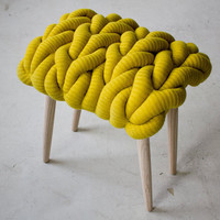 KNIT STOOLS : Claire