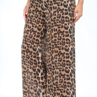 Born To Be Wild Pants: Cheetah