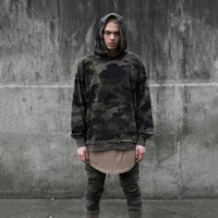 Camo Hoodie Men Sweatshirts Brand Orignal Design Camouflage Pullover Menautumn Hooded Sweatshirt Hip Hop Cloth