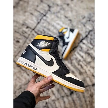 "Air Jordan 1 NRG ""No L's basketball shoes/861428-107"