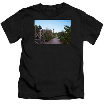 Path To Jupiter Lighthouse - Kids T-Shirt
