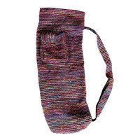 Recycled Silk Yoga Mat Bag - Nepal
