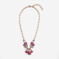 Violet Vintage Gem Necklace