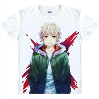 Japan  Anime  Noragami  Cosplay  Print  Short  Sleeve