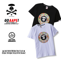 'AAPE'Summer Short Sleeve T-shirts [10425654151]