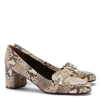 Tory Burch Bond Snake-print Pump