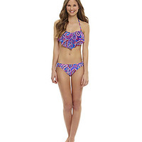 GB Paisley Hanky Bandeau Top & Shirred-Side Hipster Bottom | Dillards.com