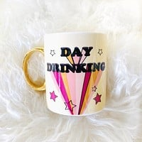 Day Drinking Mug with Stars