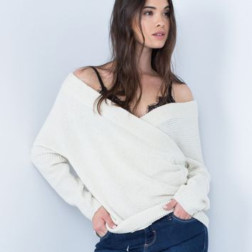 Wrap Me Up Sweater Top