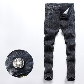 Mens Trendy Faded Style Jeans