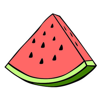 Watermelom Decal