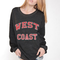 Rebel Yell West Coast Strokes Warm Up Lounger in Black