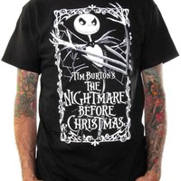 Nightmare Before Christmas T-Shirt - Poster