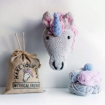Knit Your Own Unicorn Trophy | Firebox.com - Shop for the Unusual