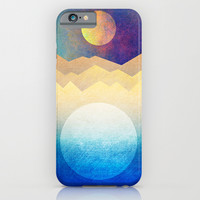 The sun and the moon iPhone & iPod Case by Elisabeth Fredriksson